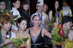 Prize-winners of International Asia-Pacific Pole Acrobatic Dance Championship 2012